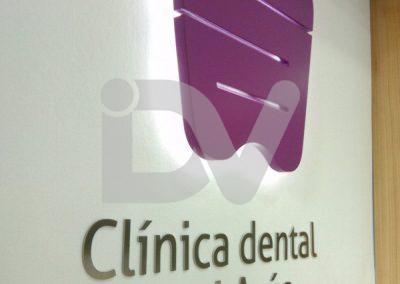 Logotipo corpóreo iluminado
