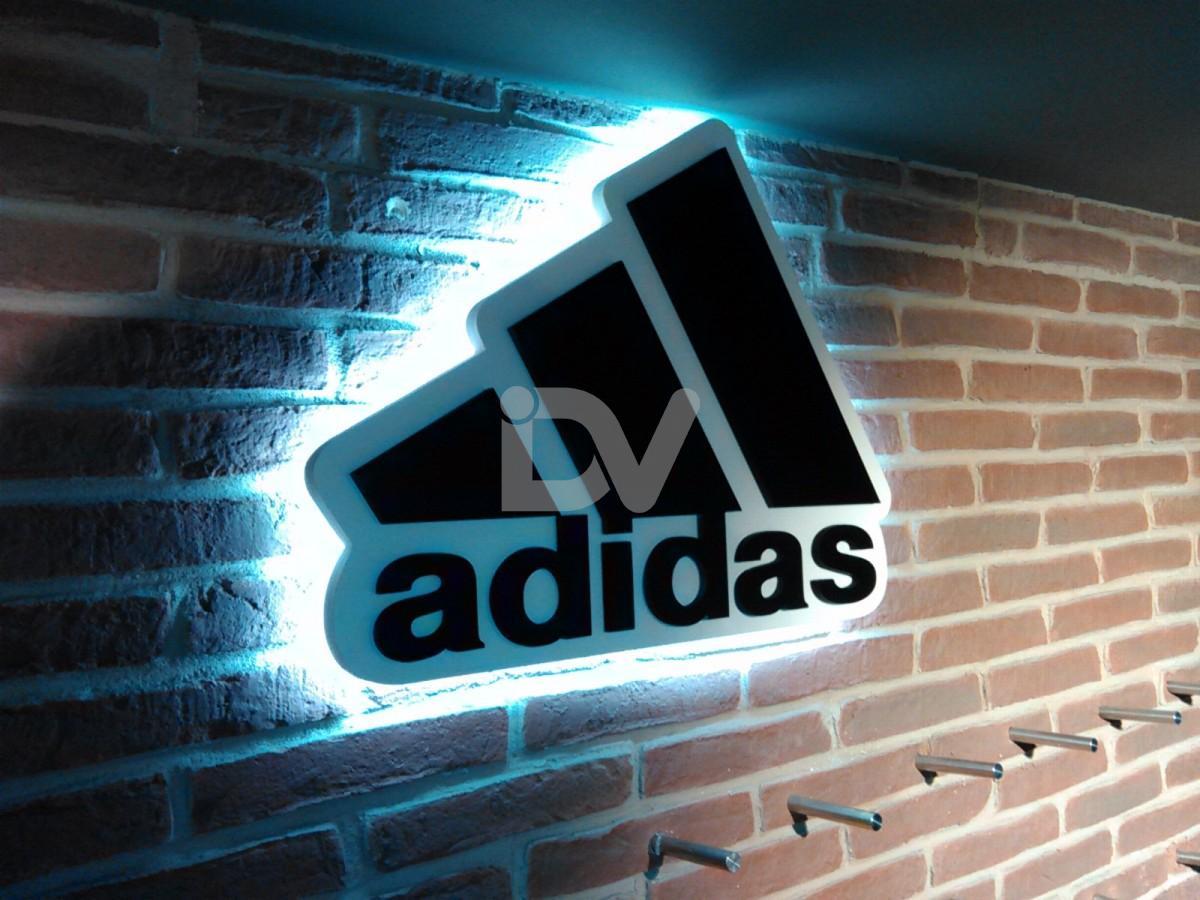 logotipo adias forex iluminado