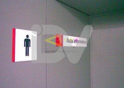 Pictogramas de señalización interior