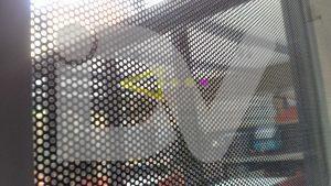 vinilo cristal impreso micro perforado