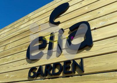 letras de pvc tienda garden